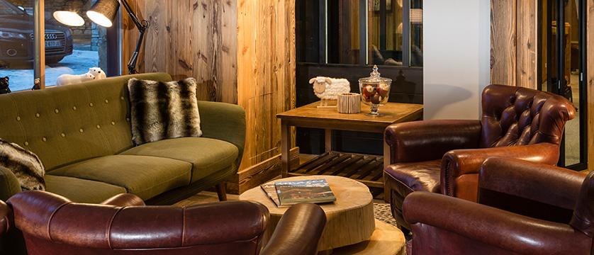 Hotel Kandahar lounge
